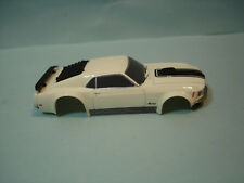 TOMY AFX BODY ONLY 1970 FORD MUSTANG BOSS 429 IN WHITE & BLACK FITS MEGA G + 1.7