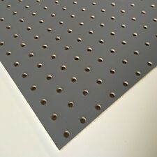 Painted Slate / Steel Grey Wooden Pegboard / Display Board 600 x 300 x 6mm