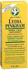 Lydia Pinkham Herbal Liquid Supplement 8 oz