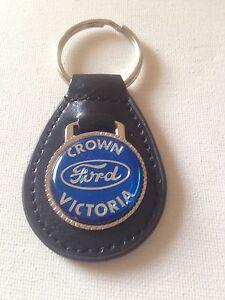 Ford Crown Victoria Keychain Crown Vic Key Chain Blue