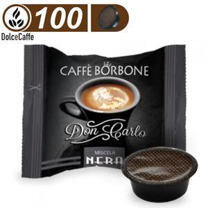 100 Caffè Borbone DonCarlo Kapseln Schwarz/Nero Kompatibel Lavazza A Modo Mio