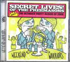 SECRET LIVES OF THE FREEMASONS Weekend Warriors CD NEW SEALED