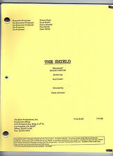 "THE SHIELD genuine show script ""Blowback"""