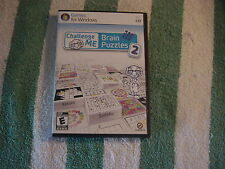 Challenge Me: Brain Puzzles 2 (PC, 2010) Games for Windows, Rated Everyone