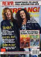 Kerrang! Magazine No 317 Thunder Electric Boys Gene Simmons  Mike Patton MBX59