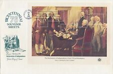 """#1687i ON FDC CACHET """"USA/18¢"""" OMITTED ON """"d"""" -- UNIQUE -- MAJOR ERROR BP4250"""