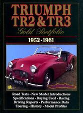 TRIUMPH TR3 TR2 BOOK GOLD PORTFOLIO BROOKLANDS TR3A