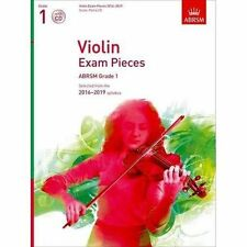 Violin Exam Pieces 2016-2019 ABRSM Grade 1 Score Part & CD Selected From The 2