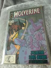 Marvel Wolverine- Issue 16. Comic near mint condition dust cover faded with age
