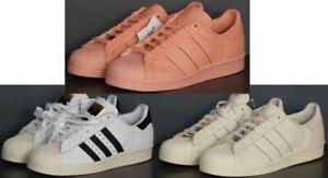 Adidas Originals Superstar 80s White Pink White Leather