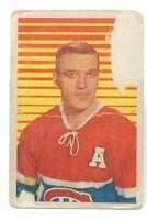 1953-54 Bernard Geoffrion #29 Montreal Canadiens Parkhurst Hockey Card G899