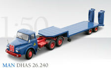 Conrad 1045 MAN DHAS 26.240 3-Axle Truck w/Low-loader - Schmidtbauer 1/50 MIB