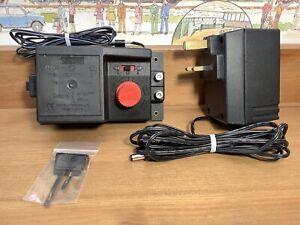 Hornby R965 Controller + Power Supply Plug & R602 Track Connector Power Clip VGC