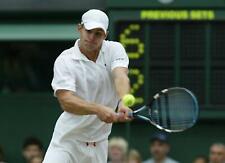Andy Roddick's Signed Personal Pro Stock Babolat Pure Drive+ Paintjob Racquet