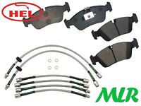 HEL PERFORMANCE BMW 3 SERIES E46 TRACK DAY FRONT BRAKE PADS & LINES