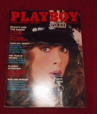 PLAYBOY MAY 1982 5/82 BEAUTY AND THE BADGE POLICE PICTORIAL BILLY JOEL VF NM