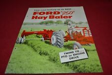 Ford Tractor 250 Baler Dealers Brochure AMIL15