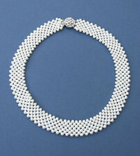 7-row Freshwater Cultured Pearl Necklace NKL040050