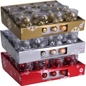 10er LED Kugeln Glitzer Weihnachtsdeko Weihnachtskugeln Weihnachten Deko Kugel
