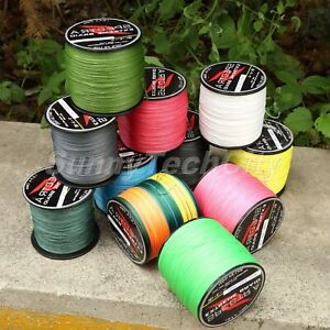 300M Super Strong Dyneema Spectra Extreme PE Braided Sea Fishing Line 4 Strands