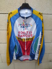 Veste cycliste FORTIS BANK EDDY MERCKX cycling jacket giacca XXXL 7 56