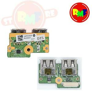 SCHEDA PORTE USB PER HP COMPAQ CQ61 BOARD PORT ORIGINAL