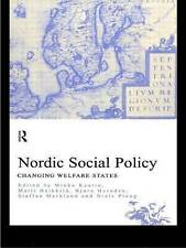 Nordic Social Policy: Changing Welfare States by