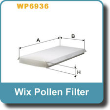 NEW Genuine WIX Replacement Pollen Filter WP6936