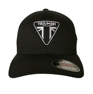 Triumph Motorcycle Logo #1 Embroidered Baseball Hat OSFA or Flex Fit