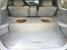 "Zenclosures 2-12"" Subwoofer Sub Box for the 2009-2013 Toyota HIGHLANDER"