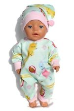 dolls clothes 43cm newborn baby born or similar (check the measurements) outfit
