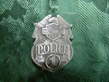 HARLEY DAVIDSON POLICE BELT BUCKLE