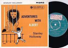Stanley Holloway ORIG OZ Promo EP Adventures with Albert EX Columbia SEGO8034