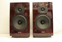 QUAD 12L HI-FI LOUDSPEAKER PAIR BOOKSHELF SPEAKER