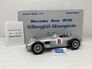 1/18 CMC 1955 Mercedes-Benz W196 Limited Hans Herman RARE M-021