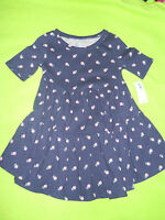 NWT ~ Old Navy Baby Navy Print Short Sleeve Dress ~ Size 18-24 M ~ MSRP $16.94 ~