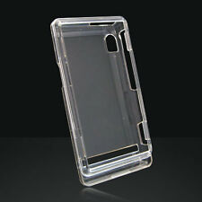 Clear Snap-On Hard Case Cover for Motorola Droid A855