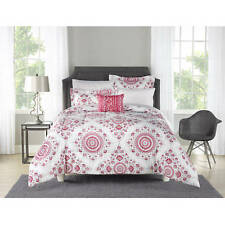Mainstays Bed in a Bag 6 Piece Twin/Twin Xl Pink Medallion