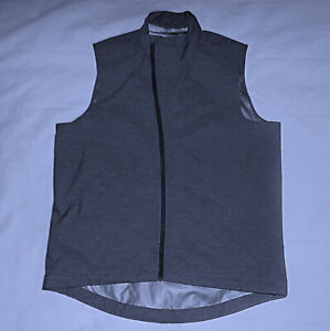 GIRO Waterproof PERTEX shell Cycling Vest-Size Medium-Gray-Brand New-No tags!