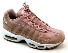 hot sale online f5523 e35c1 UNISEX NIKE AIR MAX 95 PINK LEATHER LOOK RETRO CLASSIC SPORTS TRAINERS UK  SIZE 4
