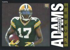2014 Topps Chrome Football 1985 #5 Davante Adams Green Bay Packers