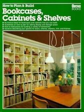 How to Plan & Build Bookcases, Cabinets & Shelves, Ortho Books, Good Book
