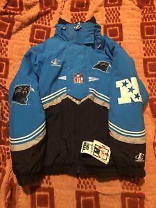 Vintage NFL Pro Line Logo Athletic Carolina Panthers Jacket New With Tag Mint.