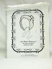 'La Petite Princesse', The Antique French Bonnet - Uncut
