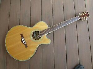 Charvel Jackson acoustic electric guitar 625 C NAT spruce top
