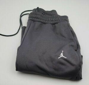 Jordan Brand Jumpman Men's Gray Sweatpants Nike Size L NICE!