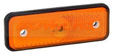 12V 24V delgada línea Flush Fit ámbar LED Luz De Luz De Posición Camión Camión Remolque
