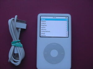 iPod Classic 5th Generation 80GB (White) -Enhanced Edition