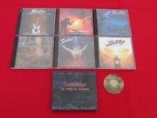 8 CD Savatage Best of Edge of Thorns Wake of Magellan poster Ghost Dead | NM