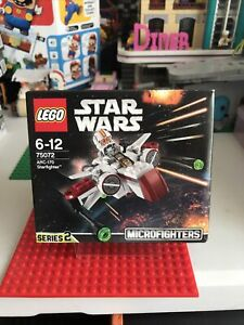 Lego Star Wars Series 2 Microfighters 75072 - ARC -170 Starfighter - Brand New